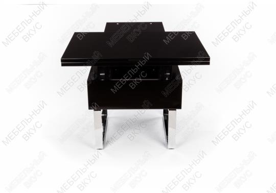 Стол-трансформер B2218 черный лак-3