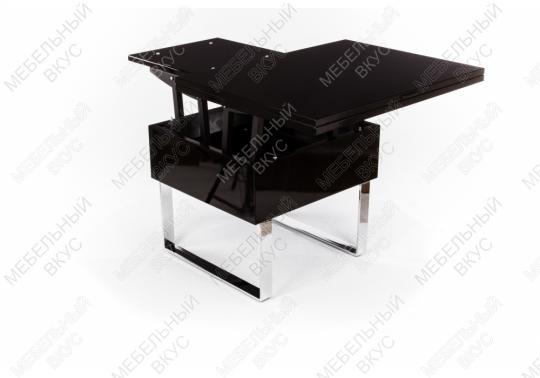 Стол-трансформер B2218 черный лак-4