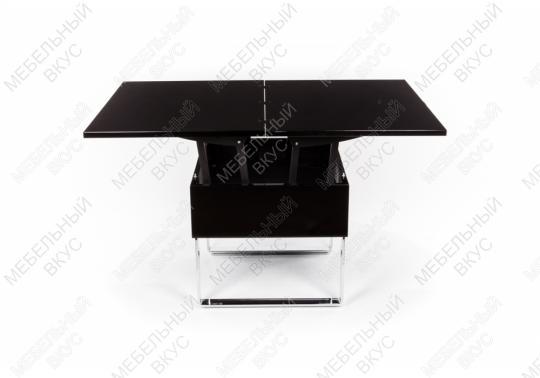 Стол-трансформер B2218 черный лак-5