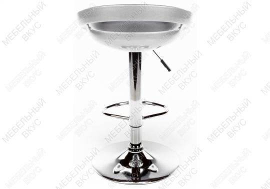 Барный стул Alfa серебристый-4