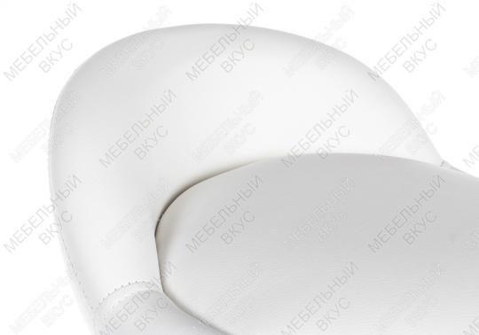 Барный стул ROUND белый-4