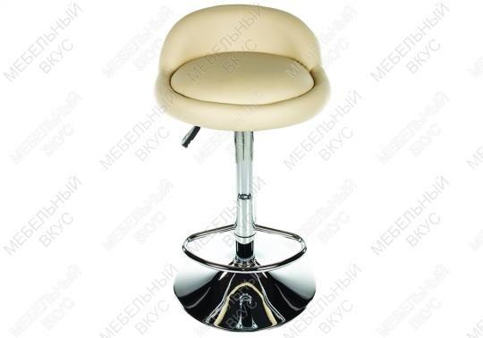 Барный стул ROUND бежевый-5