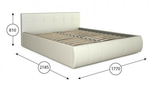 Интерьерная кровать Афина 160 с ортопедическим основанием-8