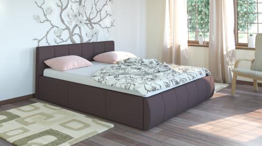 Интерьерная кровать Афина 160 с ортопедическим основанием-1