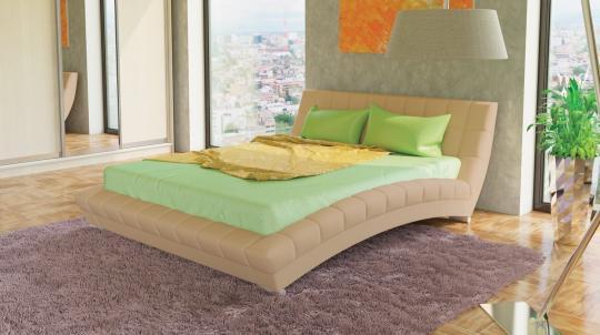 Интерьерная кровать Оливия 160 с ортопедическим основанием-4