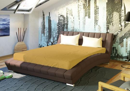 Интерьерная кровать Оливия 160 с ортопедическим основанием-3