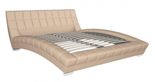 Интерьерная кровать Оливия 160 с ортопедическим основанием-2