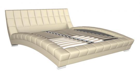 Интерьерная кровать Оливия 160 с ортопедическим основанием-1