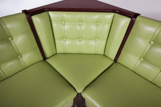 Кухонный угловой диван Серж с ящиком-3