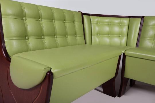 Кухонный угловой диван Серж с ящиком-5
