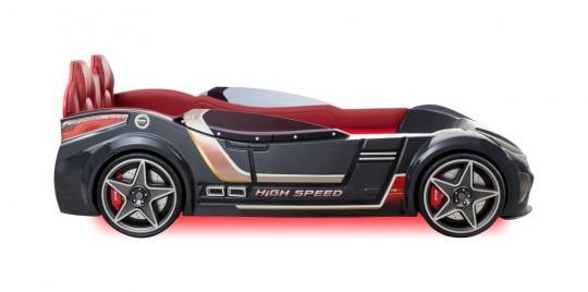 Кровать-машина GTI Антрацит CARBED 1331-1