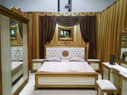 Спальня Версаль (слоновая кость) вариант 1-1