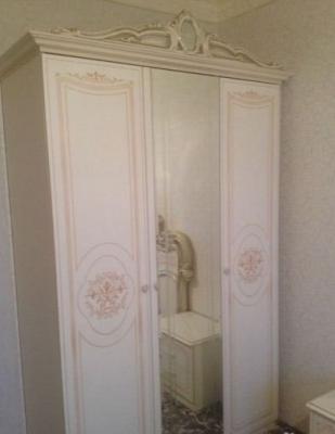 Спальня Грация (слоновая кость) вариант 2-1