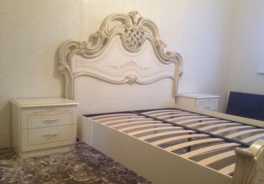 Спальня Грация (слоновая кость) вариант 2-2