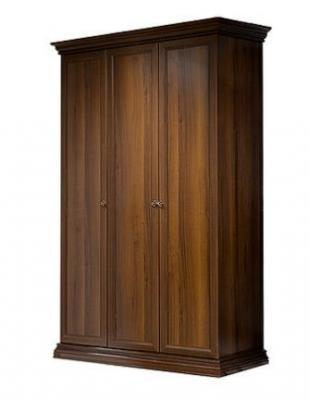 Шкаф 3-х дв. (без зеркал) для платья и белья АМШ2/3-1