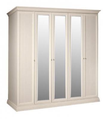 Шкаф 5-и дв. (с зеркалами) для платья и белья  АМШ1/5-2