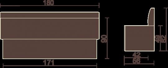 Кухонный диван Мале-6