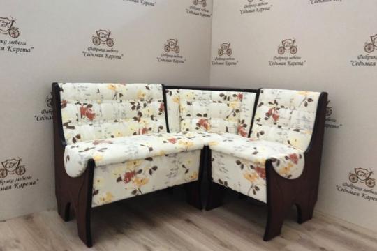 Кухонный угловой диван Серж с ящиком-6