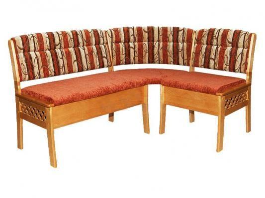 Кухонный угловой диван Этюд облегченный 2-1-1