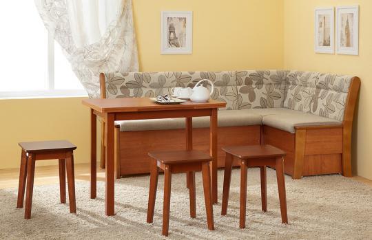 Кухонный угловой диван Этюд со спальным местом-1