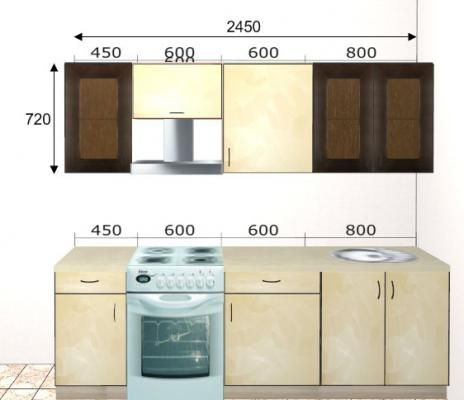 Кухня Базис 08-1