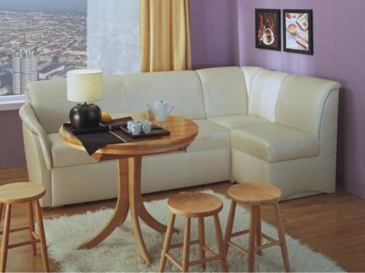 Кухонный угловой диван со спальным местом-1