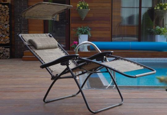 Раскладное кресло шезлонг ZD-1-6