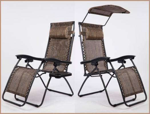 Раскладное кресло шезлонг ZD-1-5