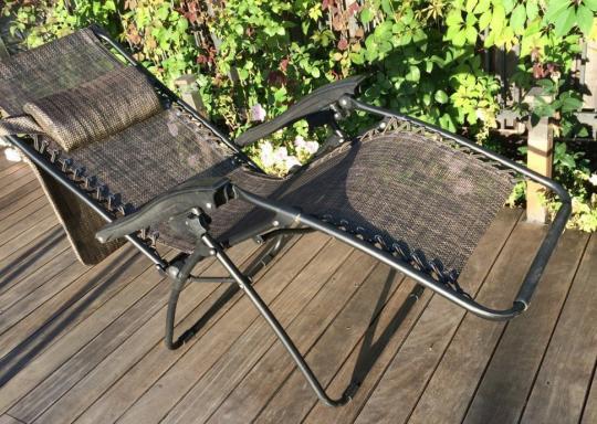 Раскладное кресло шезлонг ZD-1-2