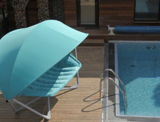 Подвесное кресло гамак ИБИЦА (цвет бирюзовый)-5