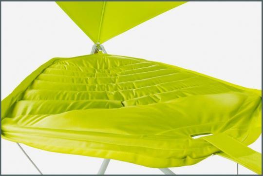 Подвесное кресло гамак ИБИЦА (цвет шартрез)-3