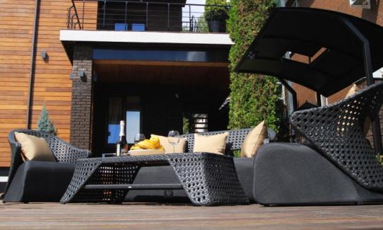 Набор мебели из искусственного ротанга лаунж-сет CHAILD-6