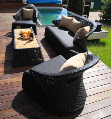 Набор мебели из искусственного ротанга лаунж-сет CHAILD-3