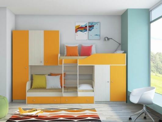 Двухъярусная кровать ЛЕО-3