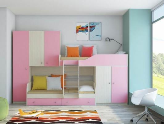 Двухъярусная кровать ЛЕО-5