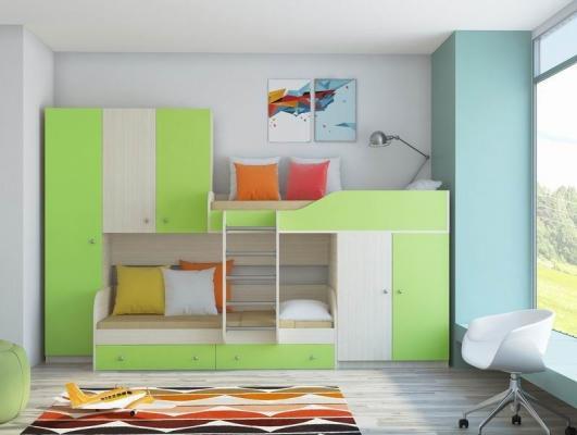 Двухъярусная кровать ЛЕО-6