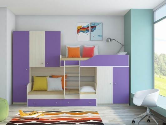 Двухъярусная кровать ЛЕО-7