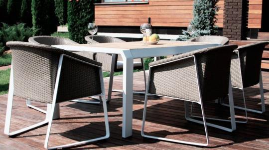 Комплект мебели из искусственного ротанга TESNO-2