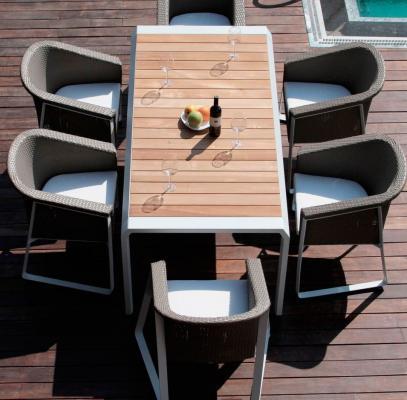 Комплект мебели из искусственного ротанга TESNO-4