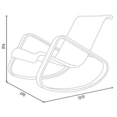 Кресло-качалка Дженни-3