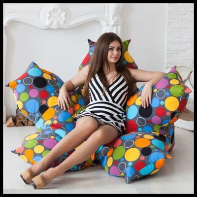 Кресло Цветок Пузырьки-1