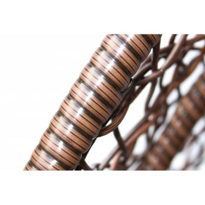 Плетеные качели KVIMOL KM 0001 большая корзина DARK-7