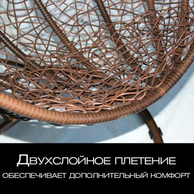 Плетеные качели KVIMOL KM 0001 большая корзина DARK-6