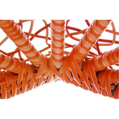 Плетеные качели KVIMOL KM 0001 средняя корзина ORANGE-1