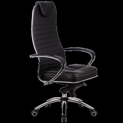 Кресло SAMURAI КL-1 Аллигатор чёрный-1