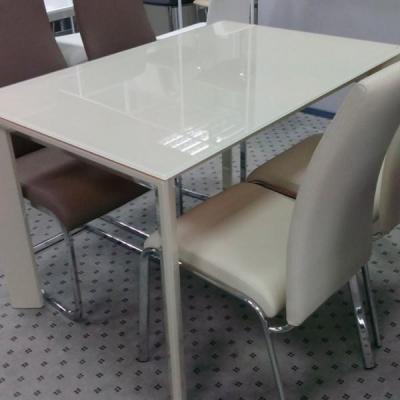 Стол TRACK 140 песочный-1