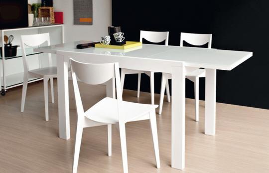 Стол деревянный NEW SMART 130 белый-1
