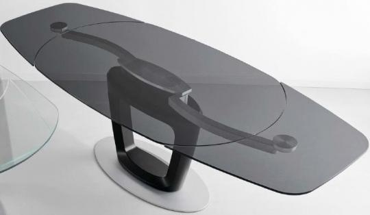 Стол ORBITAL дымчато-серый-1