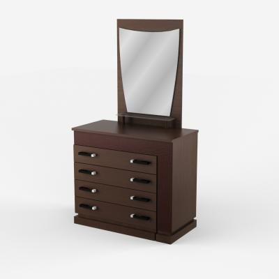 Комод-туалетный стол левый/правый  с зеркалом Петра-М-1