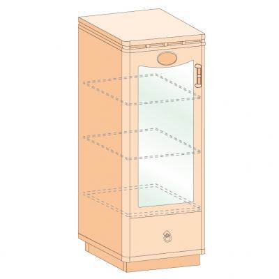 SD-9 Тумба дверь+ящик-1